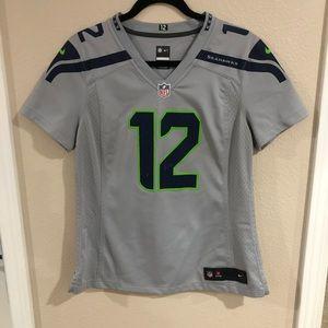Nike Women's Seahawks Jersey - sz M